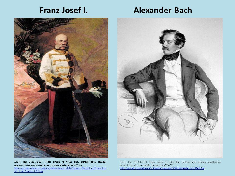 Franz Josef I. Alexander Bach