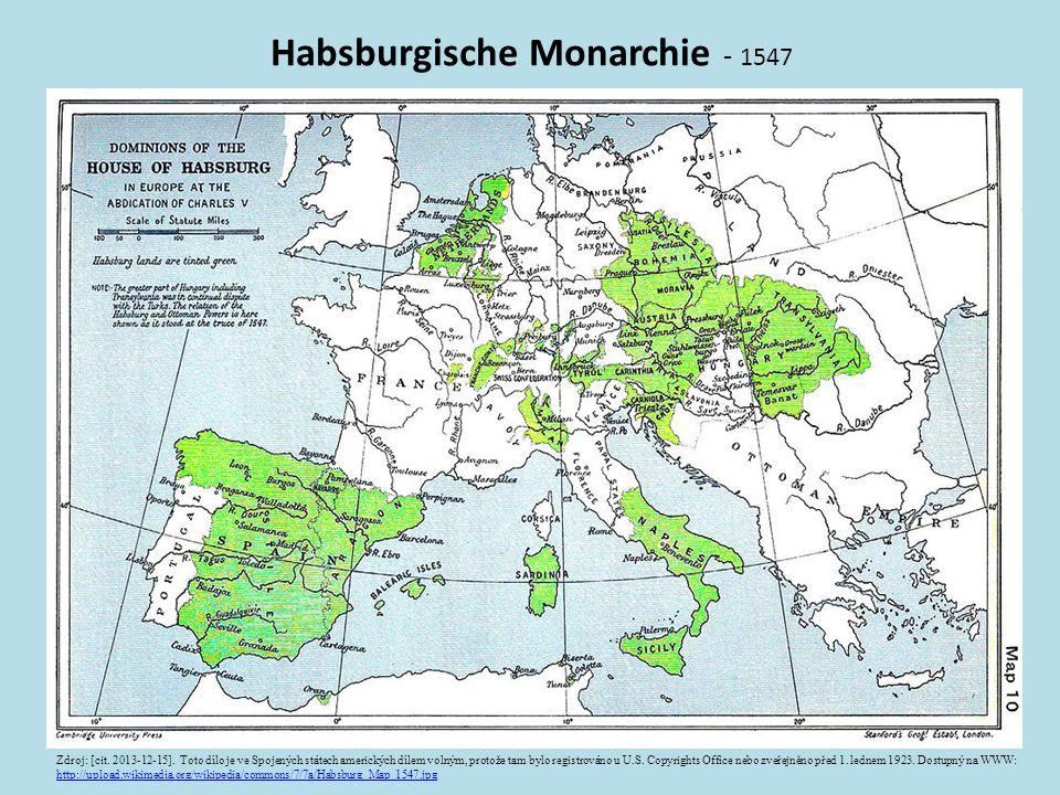 Habsburgische Monarchie - 1547