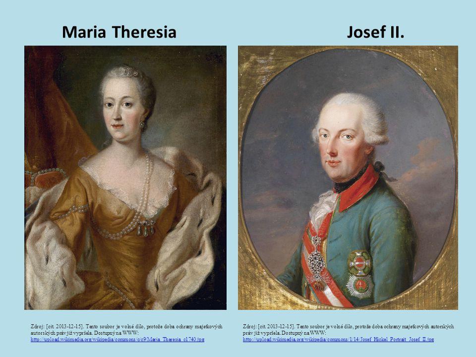 Maria Theresia Josef II.