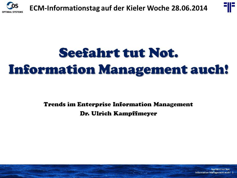 ECM-Informationstag auf der Kieler Woche 28.06.2014