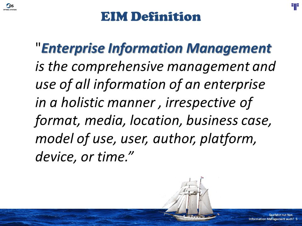 EIM Definition