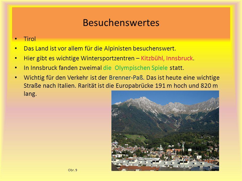 Besuchenswertes Tirol