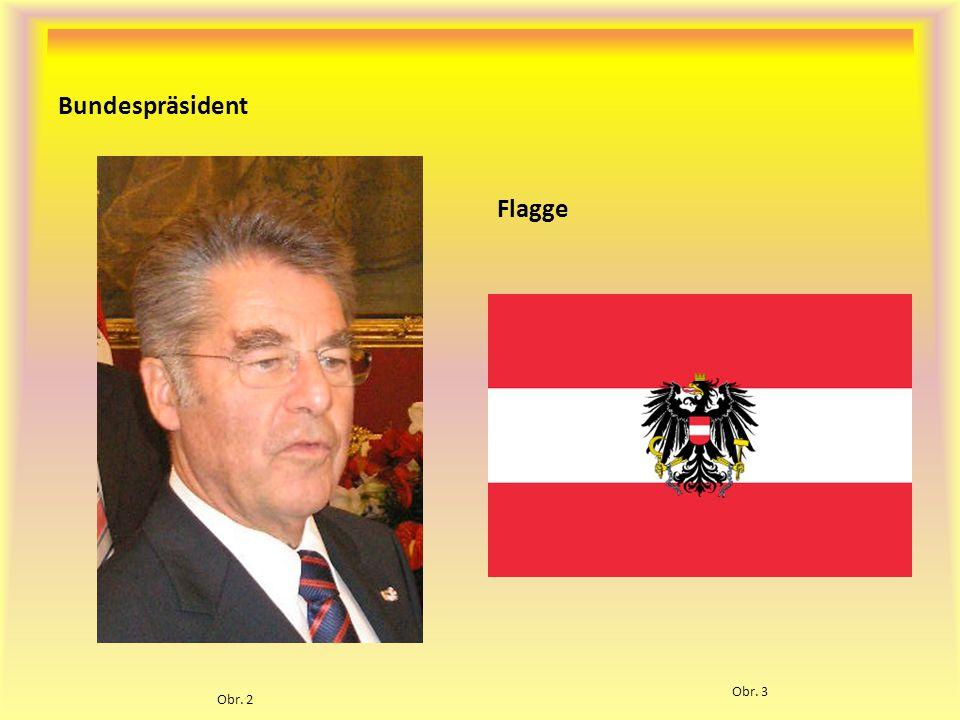 Bundespräsident Flagge Obr. 3 Obr. 2