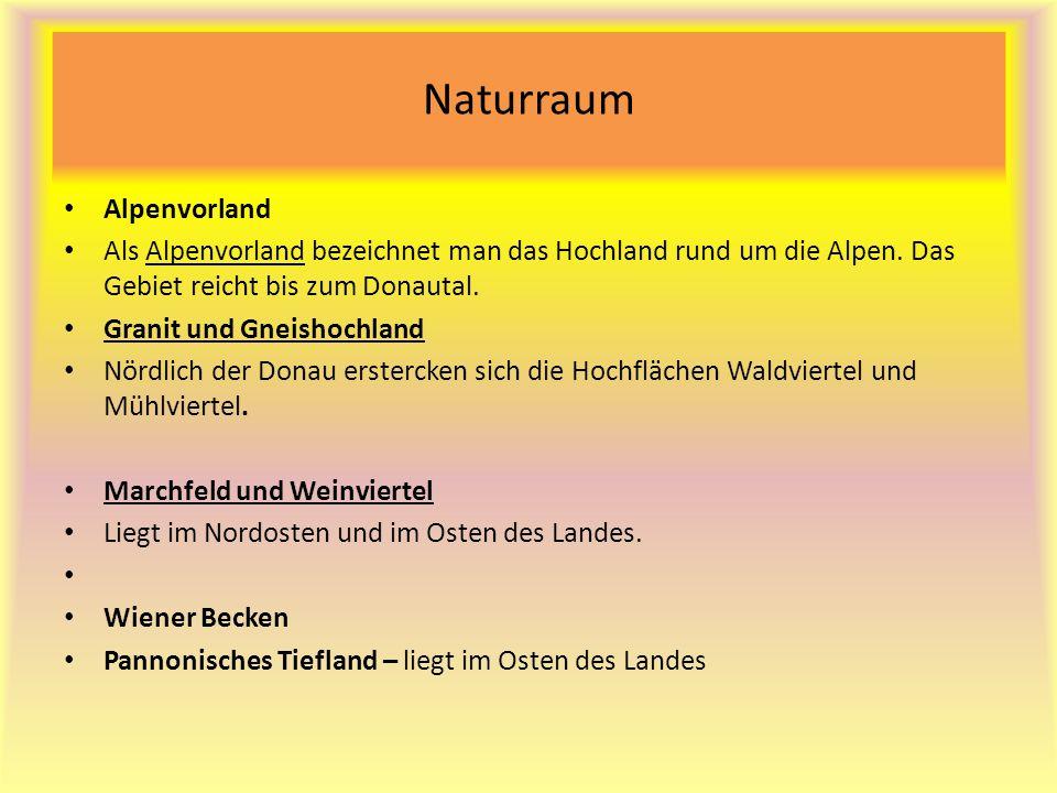 Naturraum Alpenvorland