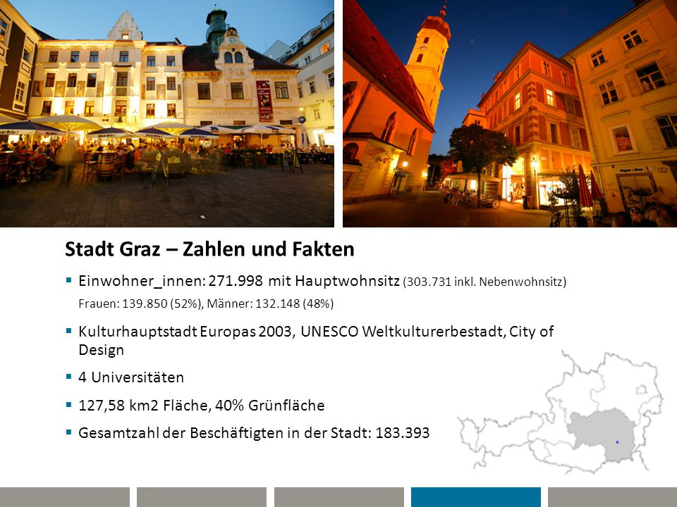 Stadt Graz – Zahlen und Fakten