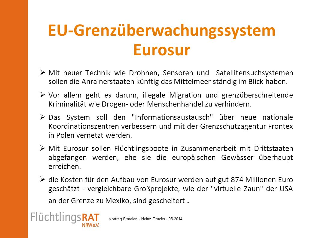 EU-Grenzüberwachungssystem Eurosur