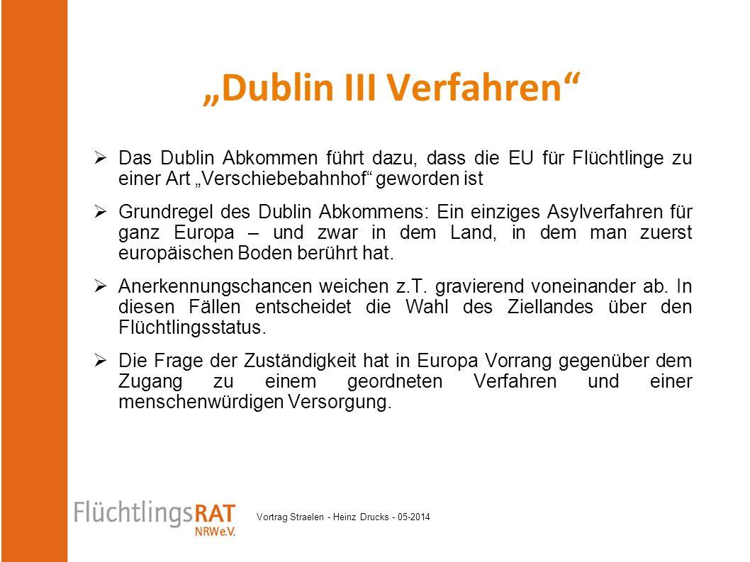 """Dublin III Verfahren"