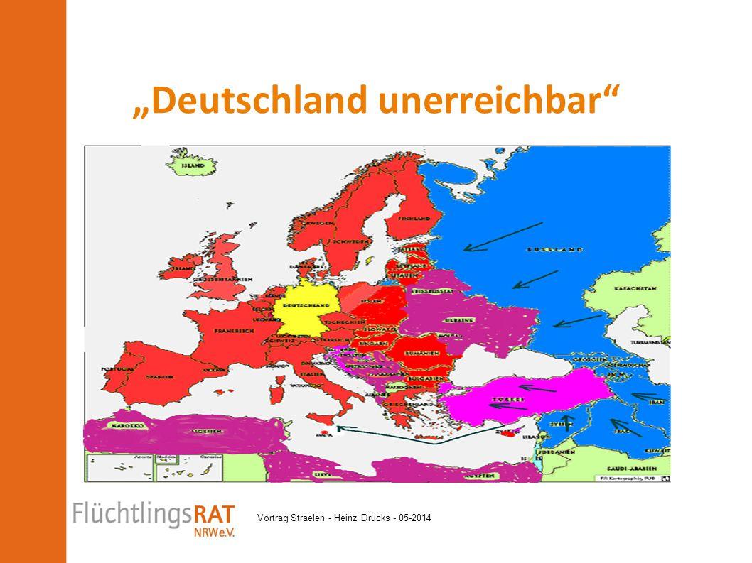 """""""Deutschland unerreichbar"""