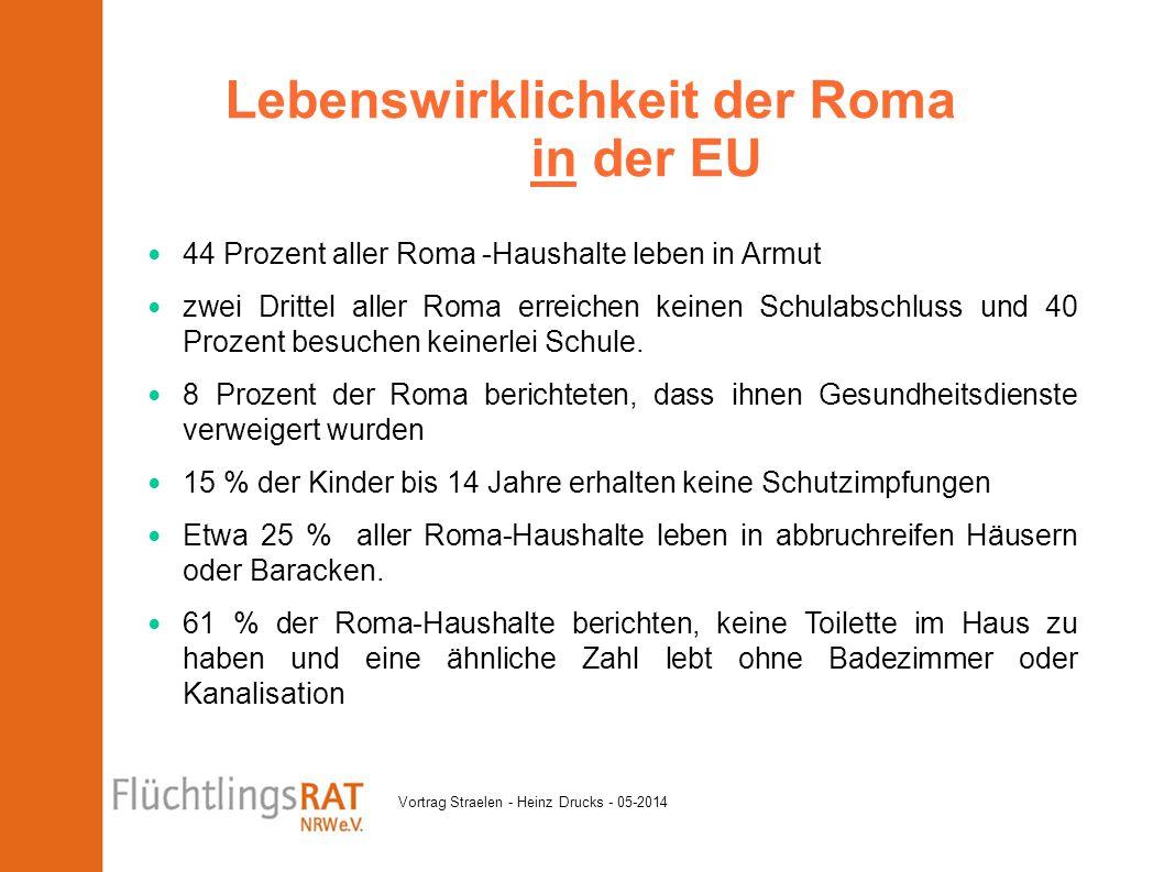 Lebenswirklichkeit der Roma in der EU