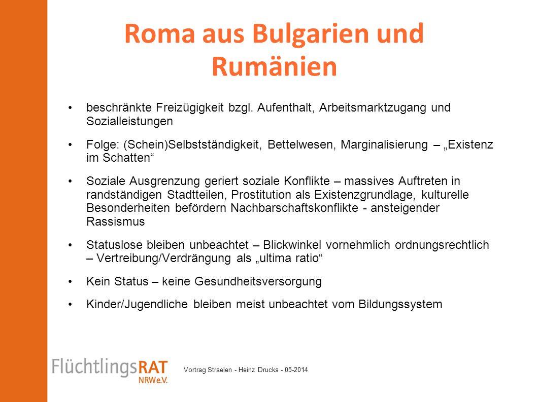 Roma aus Bulgarien und Rumänien