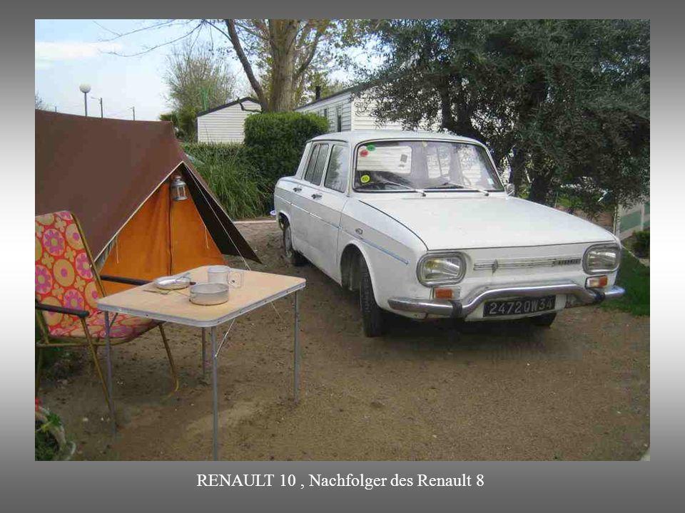 RENAULT 10 , Nachfolger des Renault 8