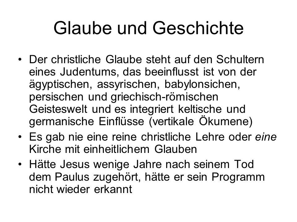Glaube und Geschichte