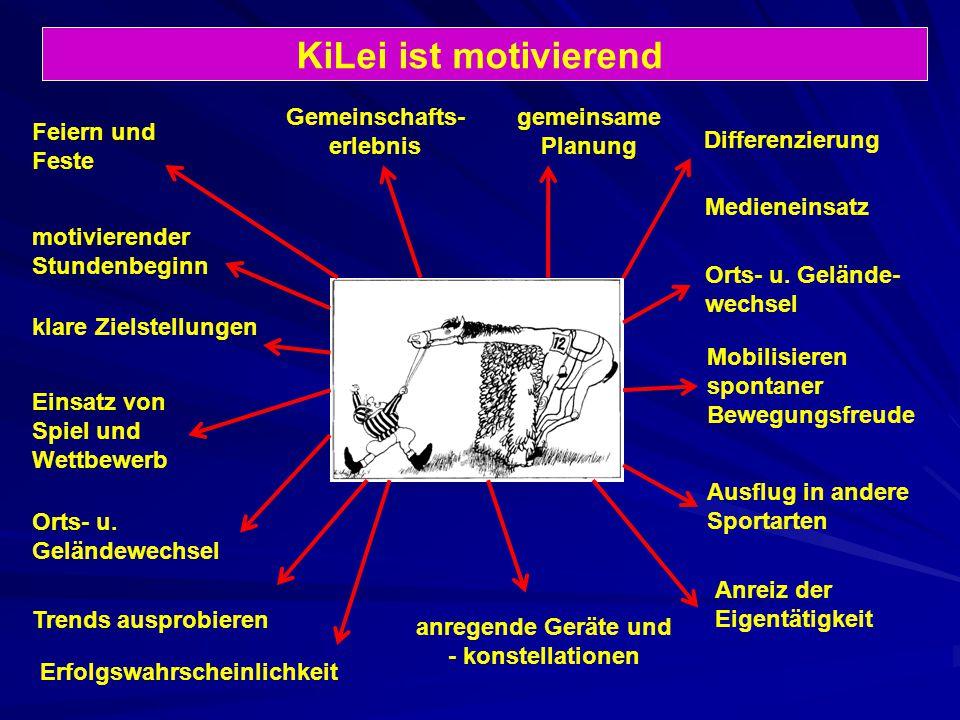 KiLei ist motivierend Gemeinschafts- erlebnis gemeinsame Planung