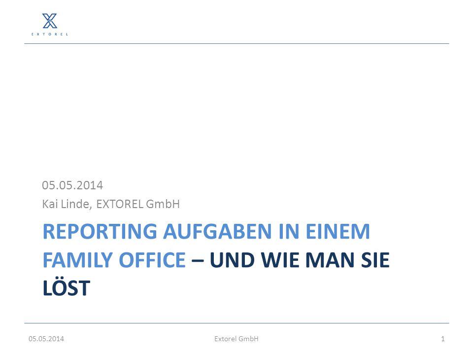 Reporting AUFGABEN in einem Family Office – und wie man sie löst