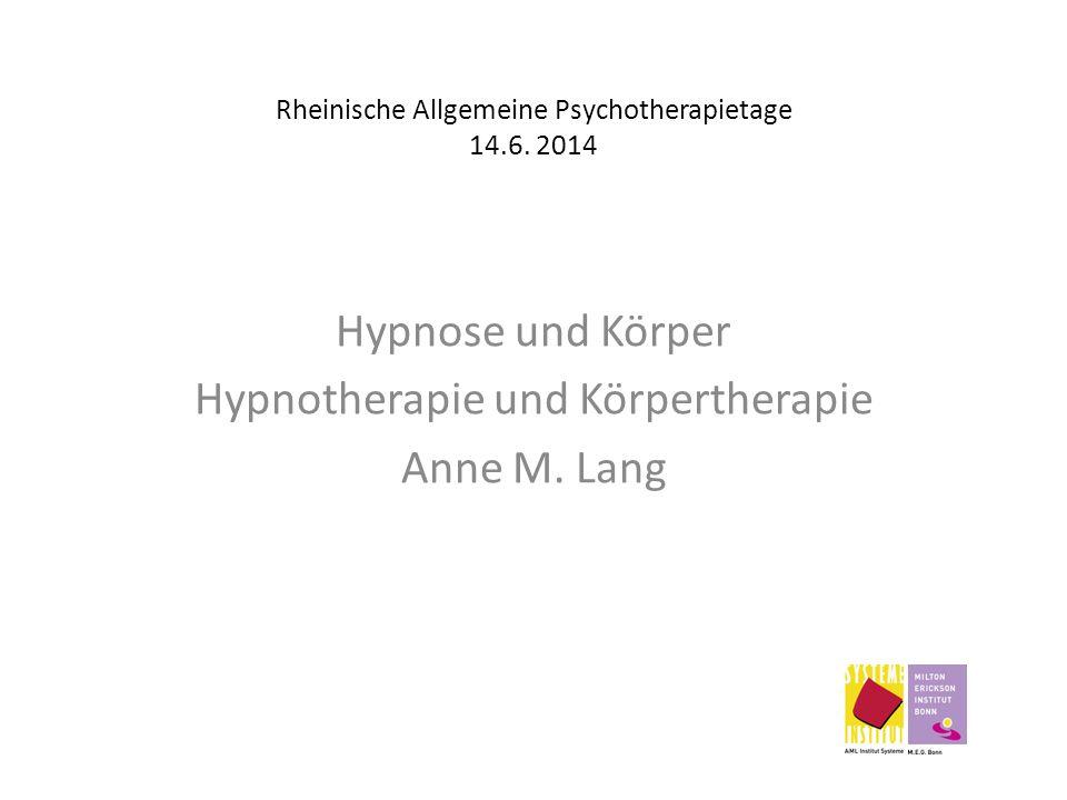 Rheinische Allgemeine Psychotherapietage 14.6. 2014