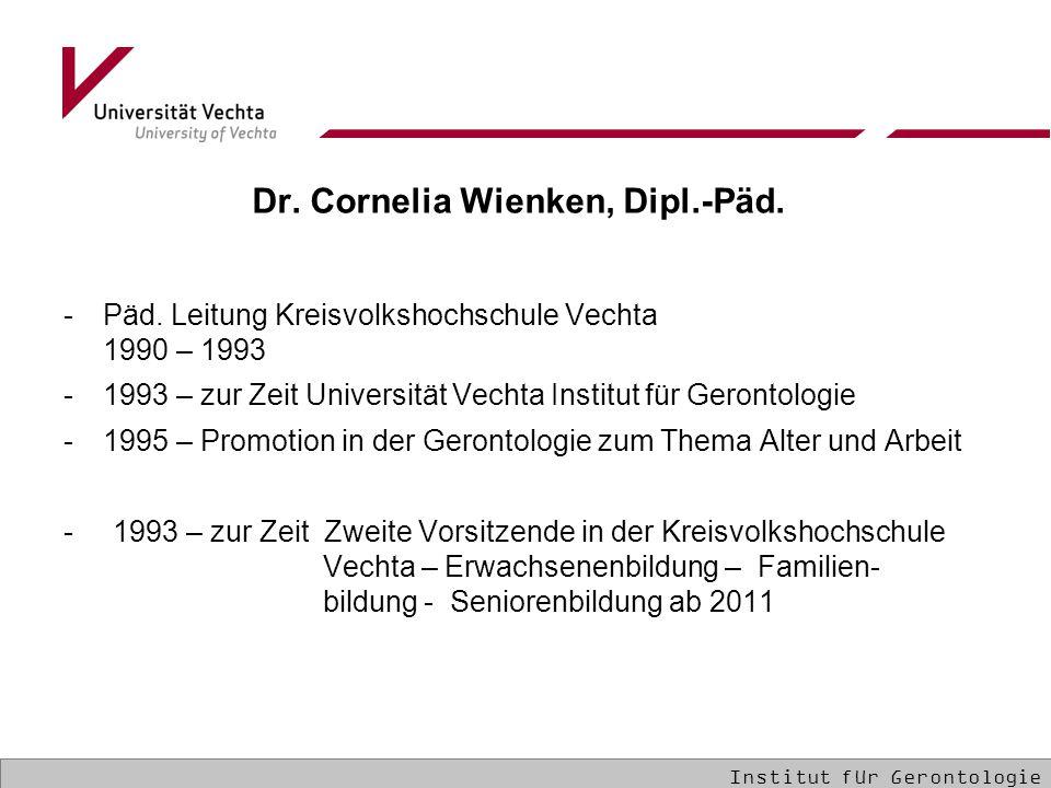 Dr. Cornelia Wienken, Dipl.-Päd.