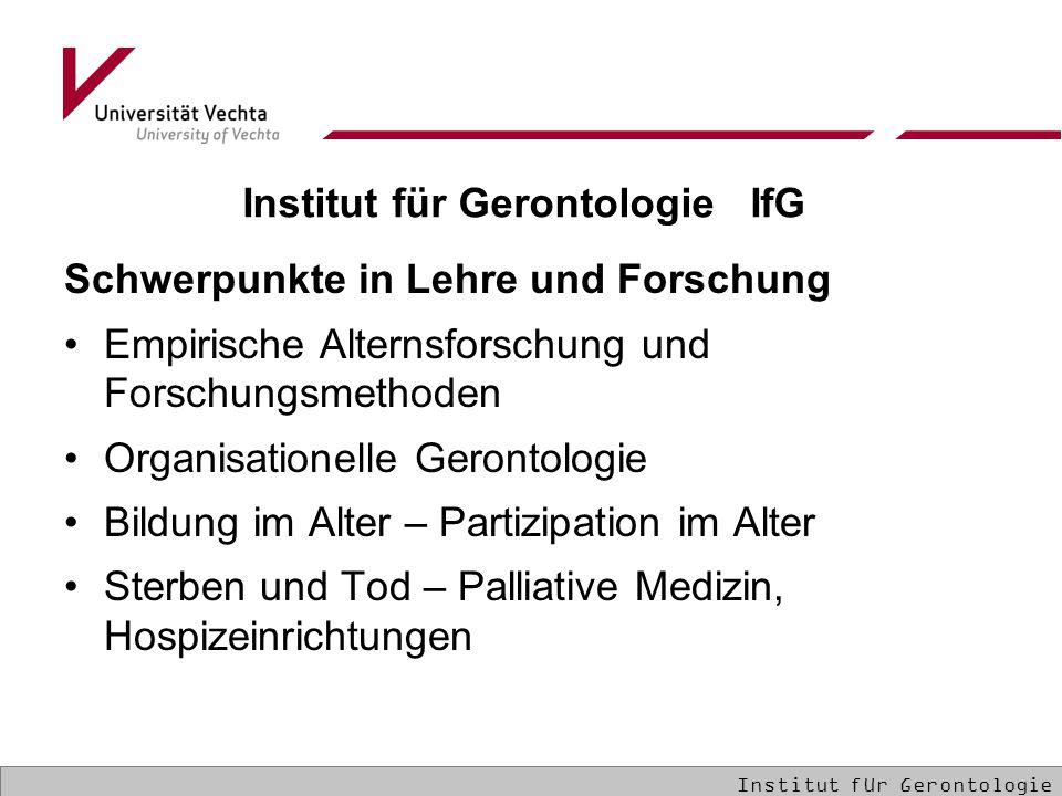 Institut für Gerontologie IfG