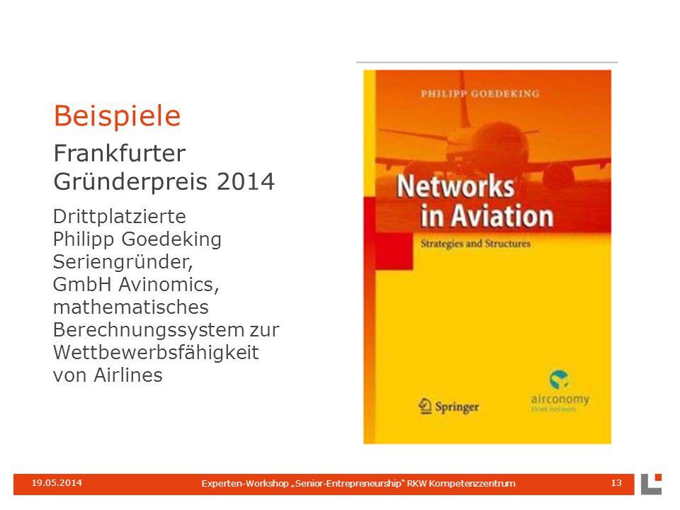 Frankfurter Gründerpreis 2014