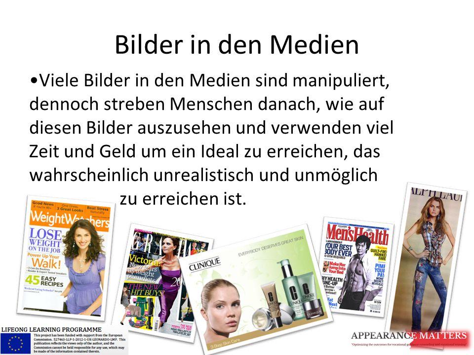 Bilder in den Medien