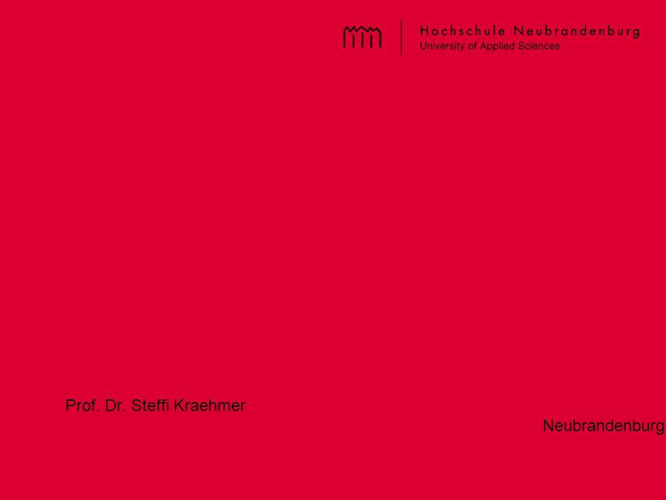 Prof. Dr. Steffi Kraehmer