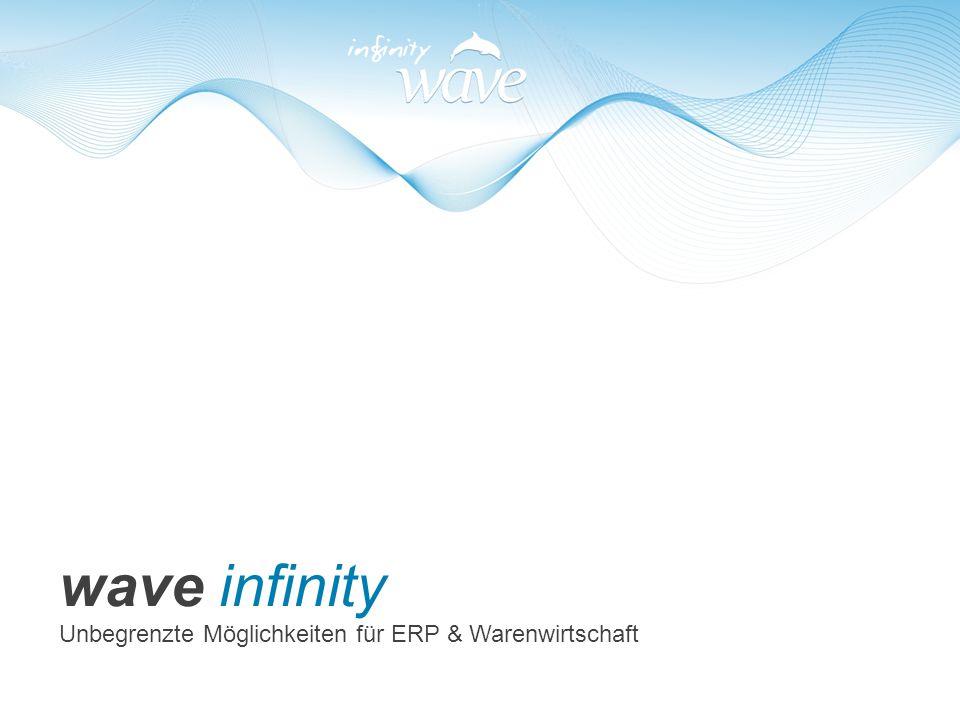 wave infinity Unbegrenzte Möglichkeiten für ERP & Warenwirtschaft