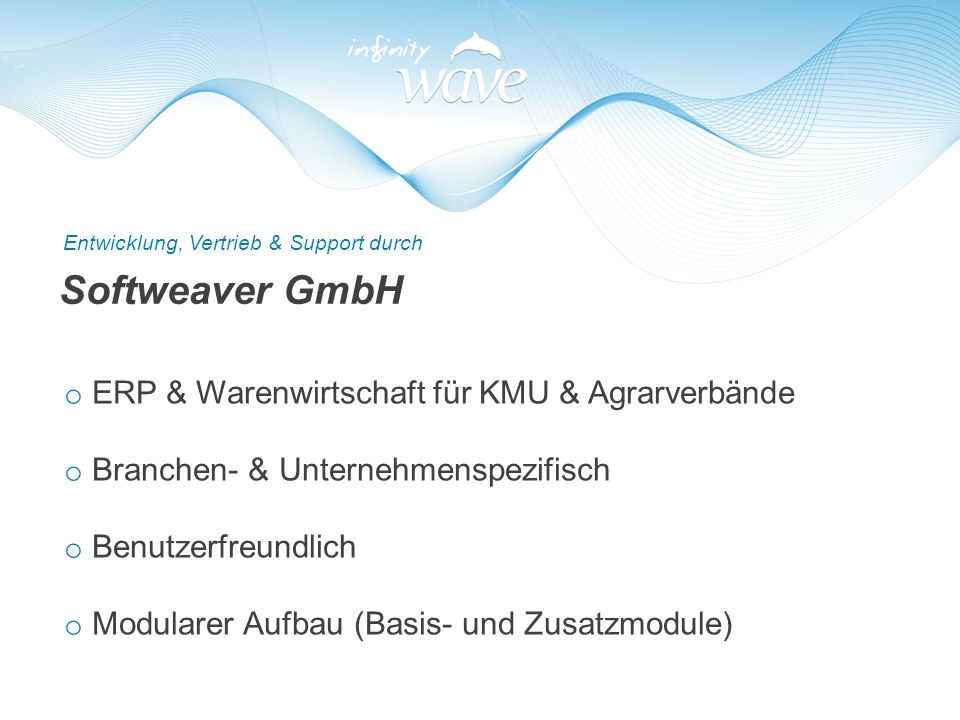 Softweaver GmbH ERP & Warenwirtschaft für KMU & Agrarverbände