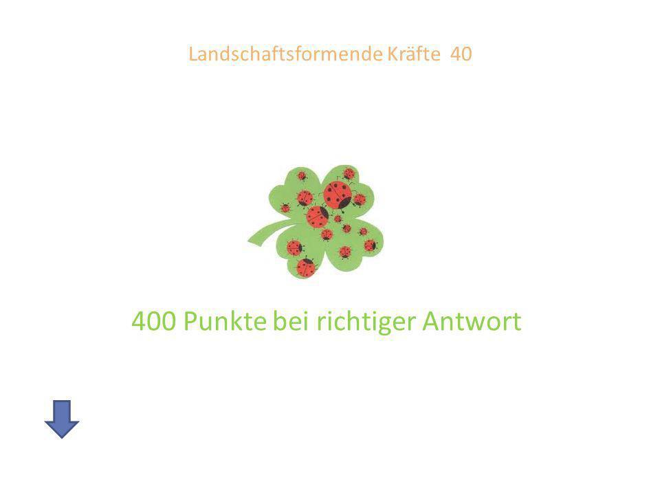 Landschaftsformende Kräfte 40