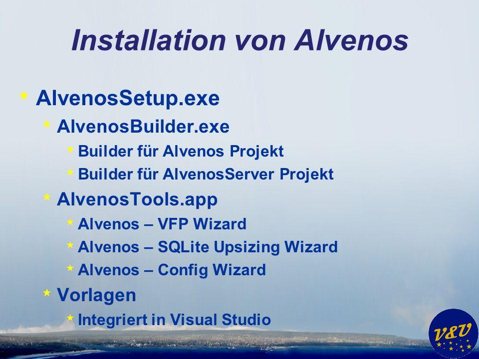 Installation von Alvenos