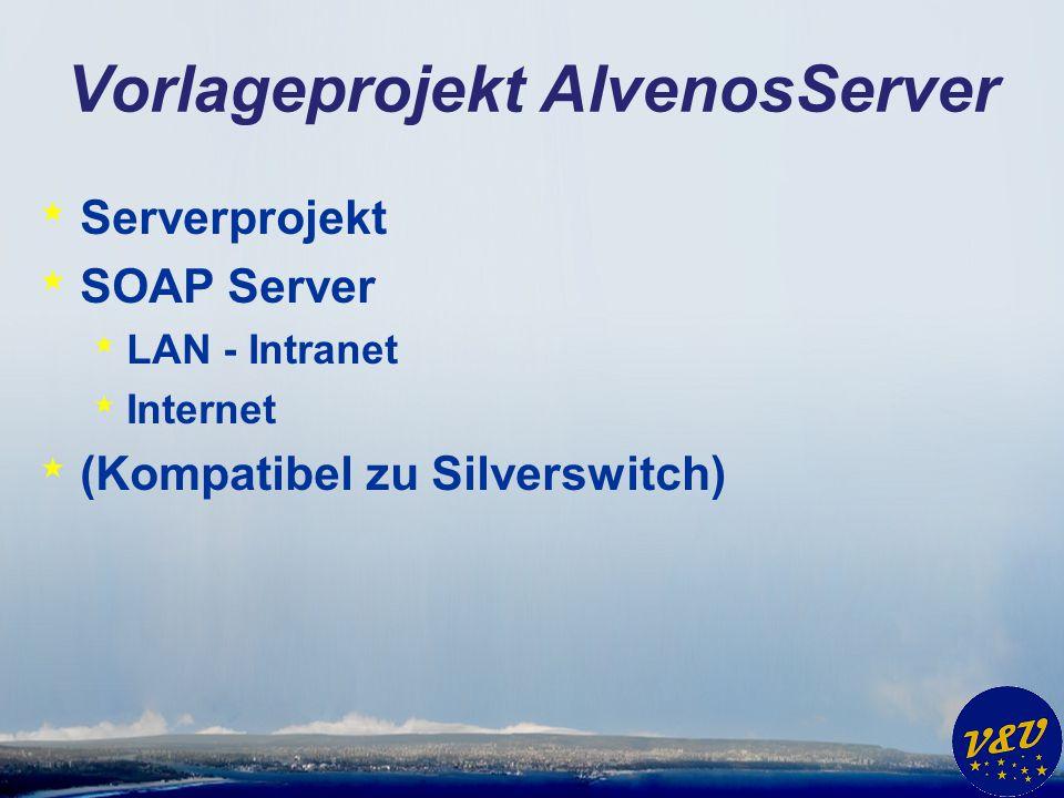 Vorlageprojekt AlvenosServer