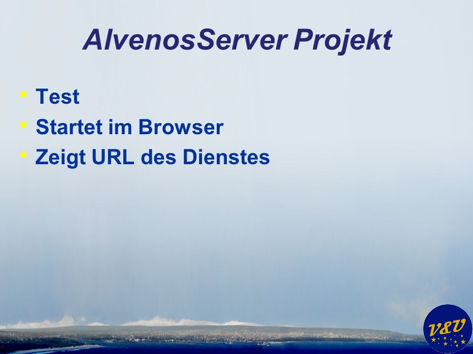 AlvenosServer Projekt