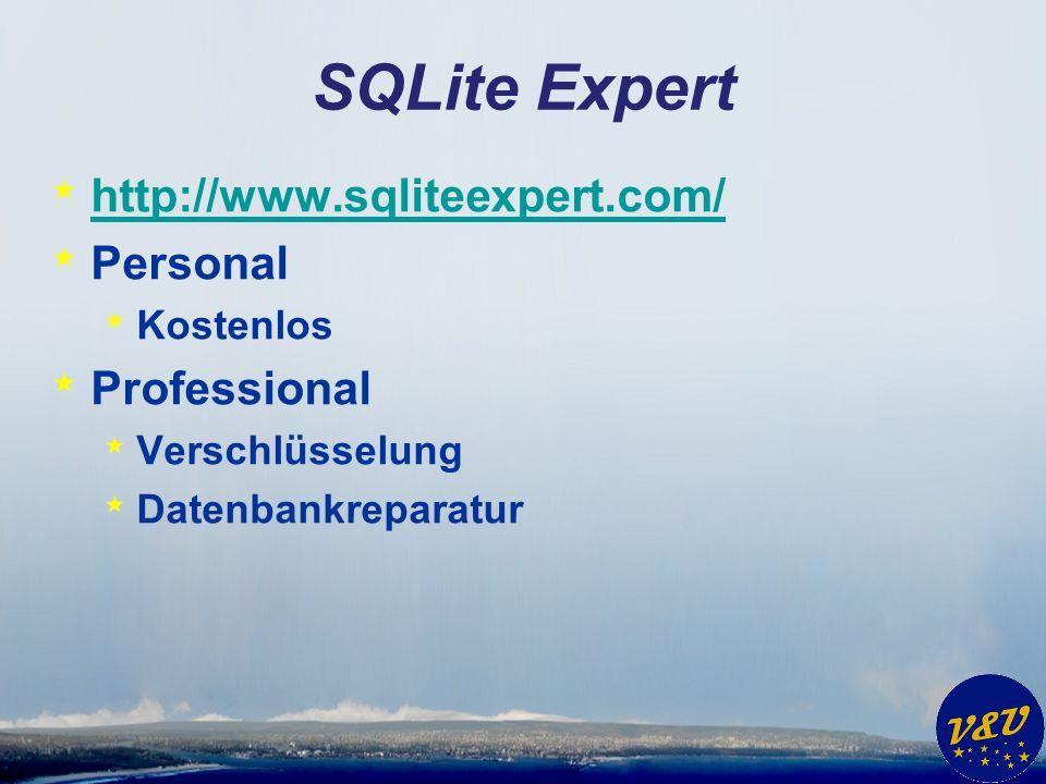 SQLite Expert http://www.sqliteexpert.com/ Personal Professional