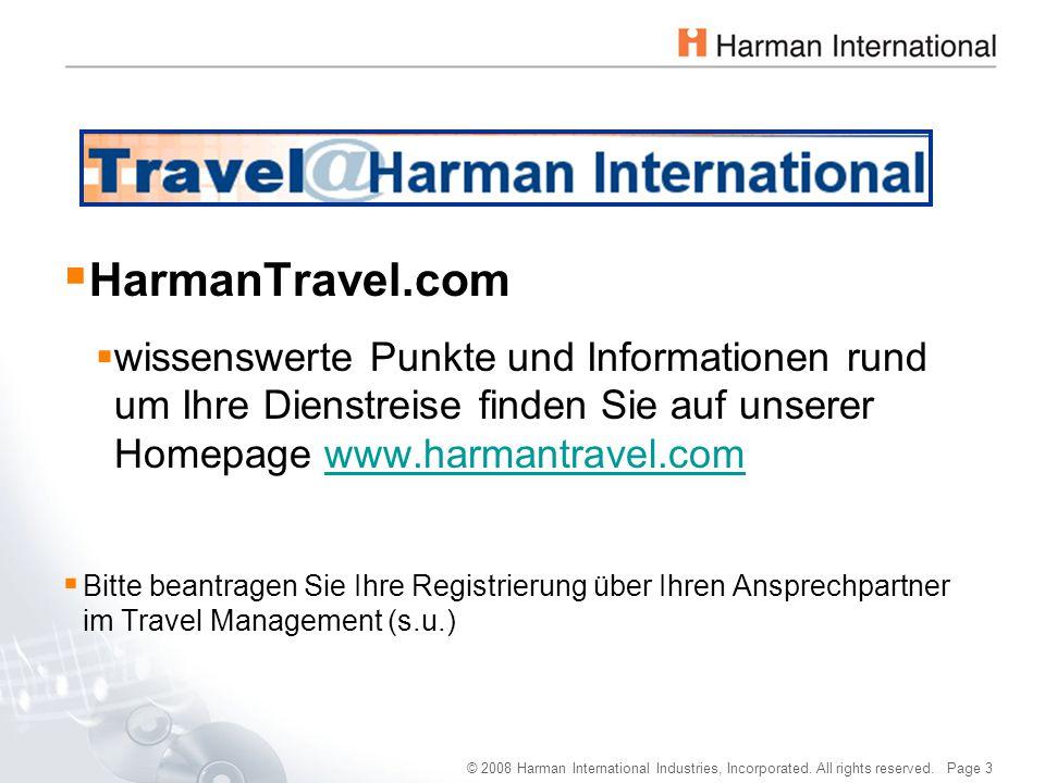 HarmanTravel.com wissenswerte Punkte und Informationen rund um Ihre Dienstreise finden Sie auf unserer Homepage www.harmantravel.com.