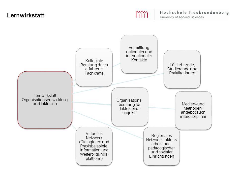 Lernwirkstatt Lernwirkstatt Organisationsentwicklung und Inklusion