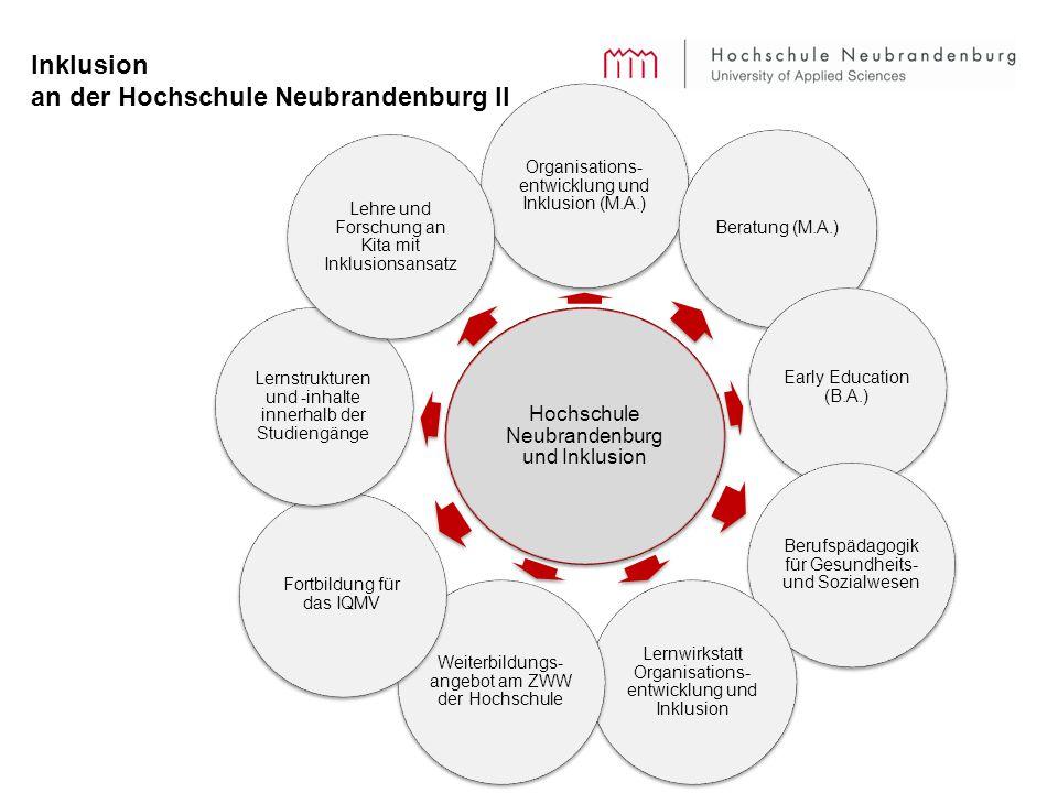 Inklusion an der Hochschule Neubrandenburg II