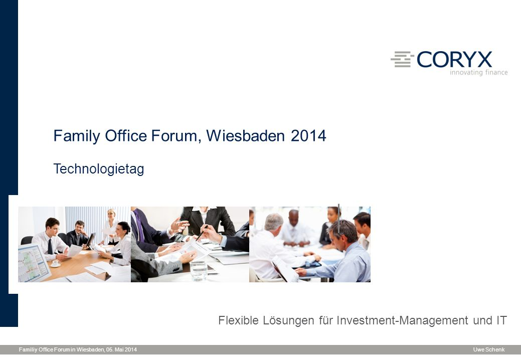 Family Office Forum, Wiesbaden 2014
