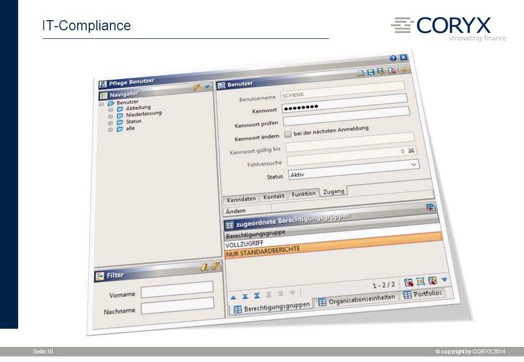 """IT-Compliance Unter Reiter """"Zugang die gewohnt üblichen Attribute zur Authentifizierung und Authentisierung."""