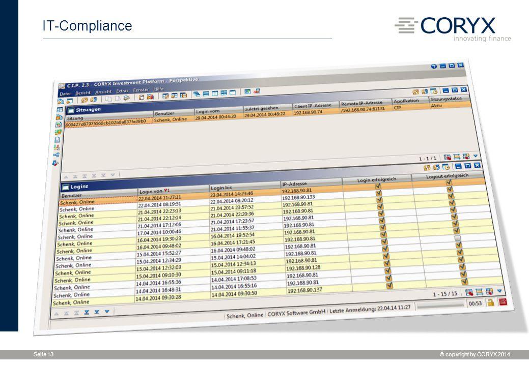 IT-Compliance Monitoring der aktuellen Sitzungen mit Status und Auswertung der Logins -> periodische Aktualisierung -> Export der Daten.