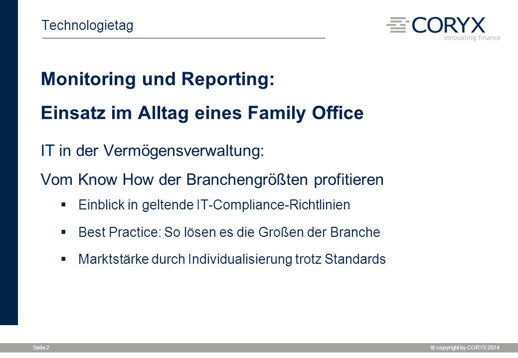 Monitoring und Reporting: Einsatz im Alltag eines Family Office