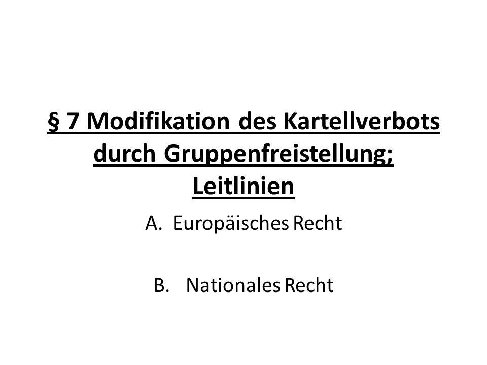 Europäisches Recht Nationales Recht