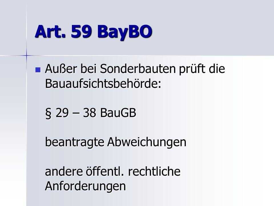 Art. 59 BayBO