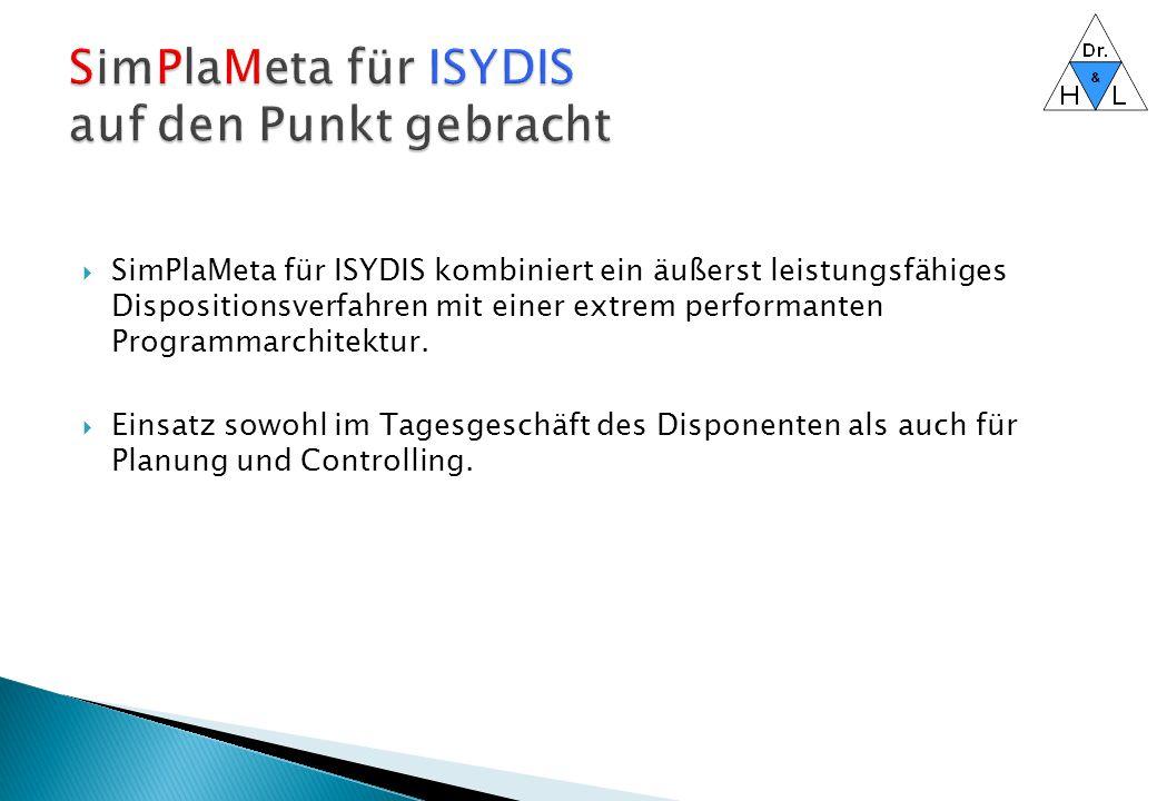 SimPlaMeta für ISYDIS auf den Punkt gebracht