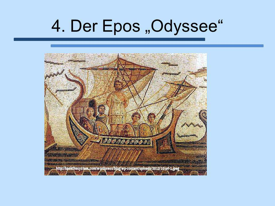 """4. Der Epos """"Odyssee"""