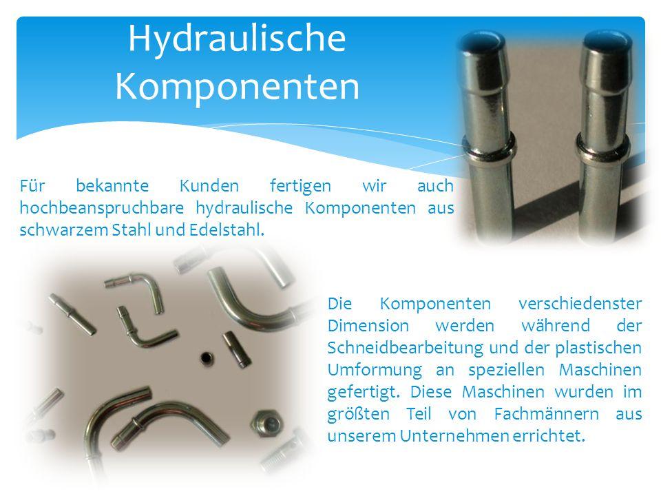 Hydraulische Komponenten