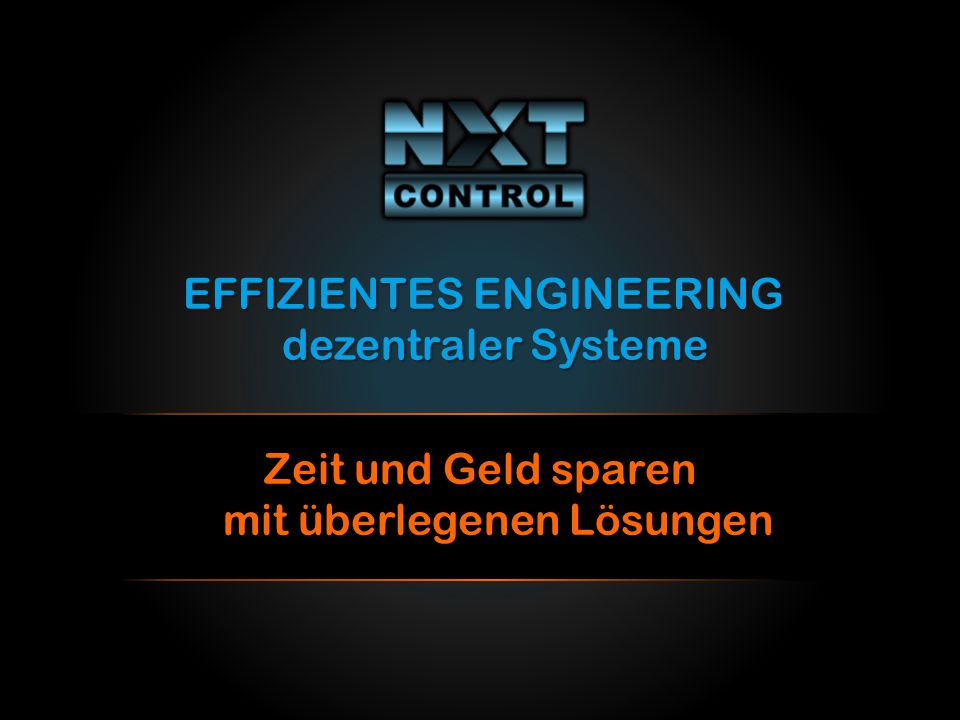 EFFIZIENTES ENGINEERING dezentraler Systeme