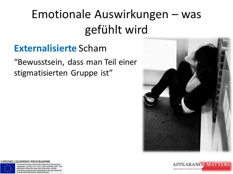 Emotionale Auswirkungen – was gefühlt wird