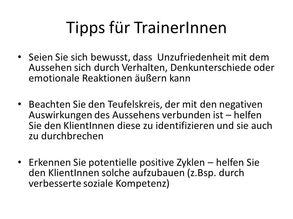Tipps für TrainerInnen