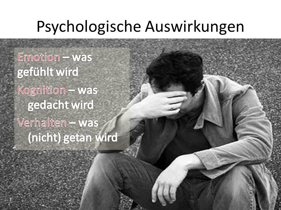 Psychologische Auswirkungen
