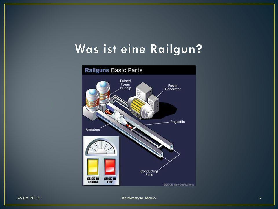 Was ist eine Railgun 26.05.2014 Bruckmayer Mario