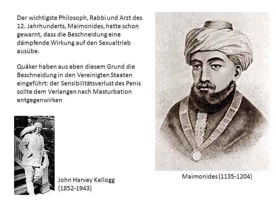 Der wichtigste Philosoph, Rabbi und Arzt des 12