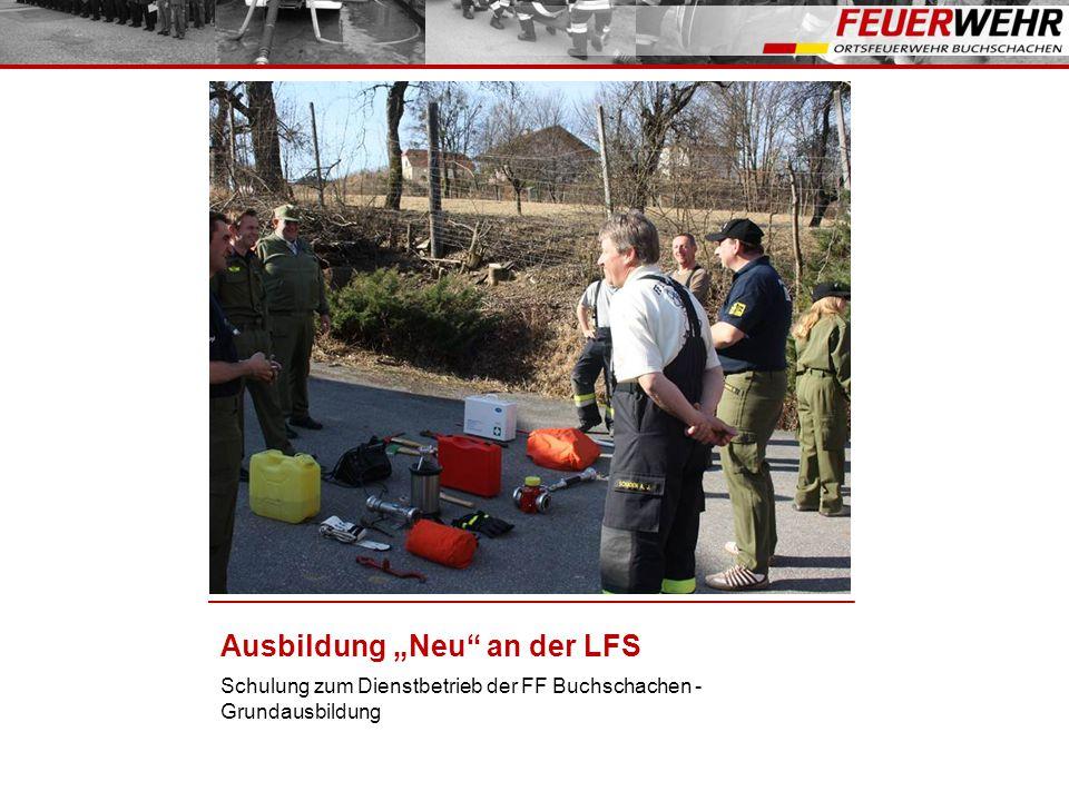 """Ausbildung """"Neu an der LFS"""
